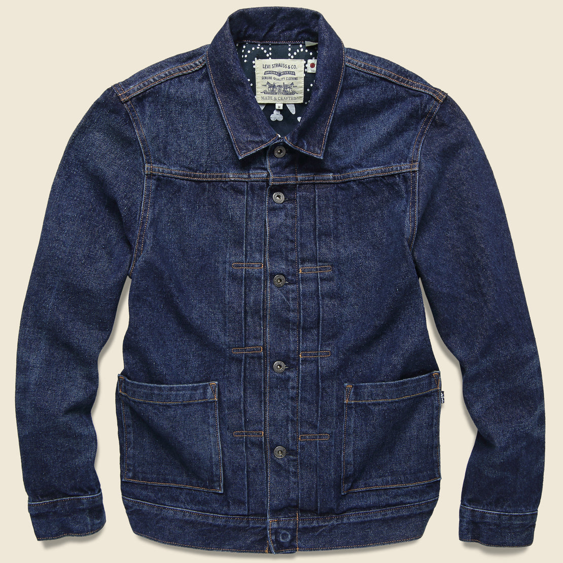 Levis Made & Crafted Type II Trucker Jacket - Neppy