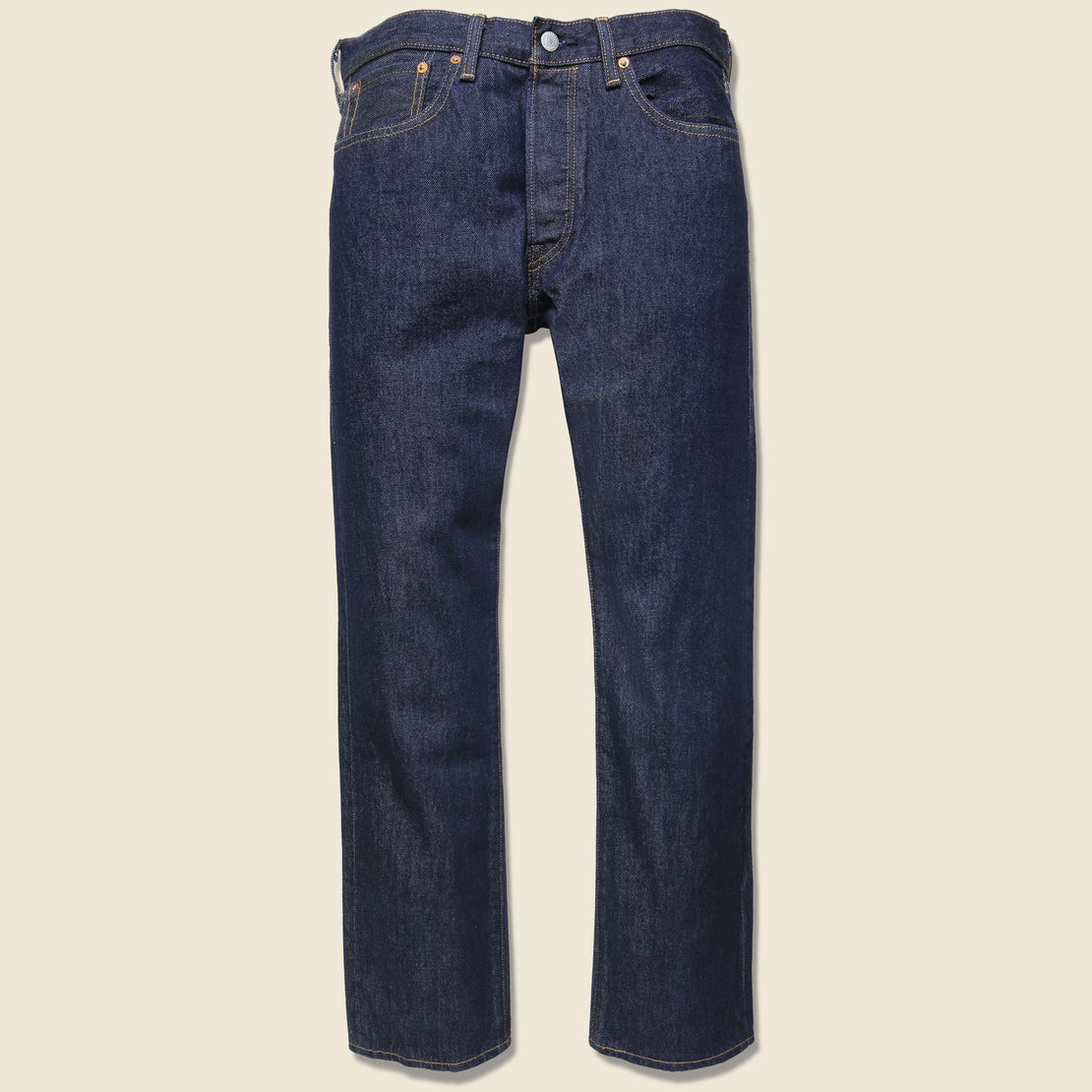 Levis Made & Crafted 501 Original Fit Jean - Indigo Rinse