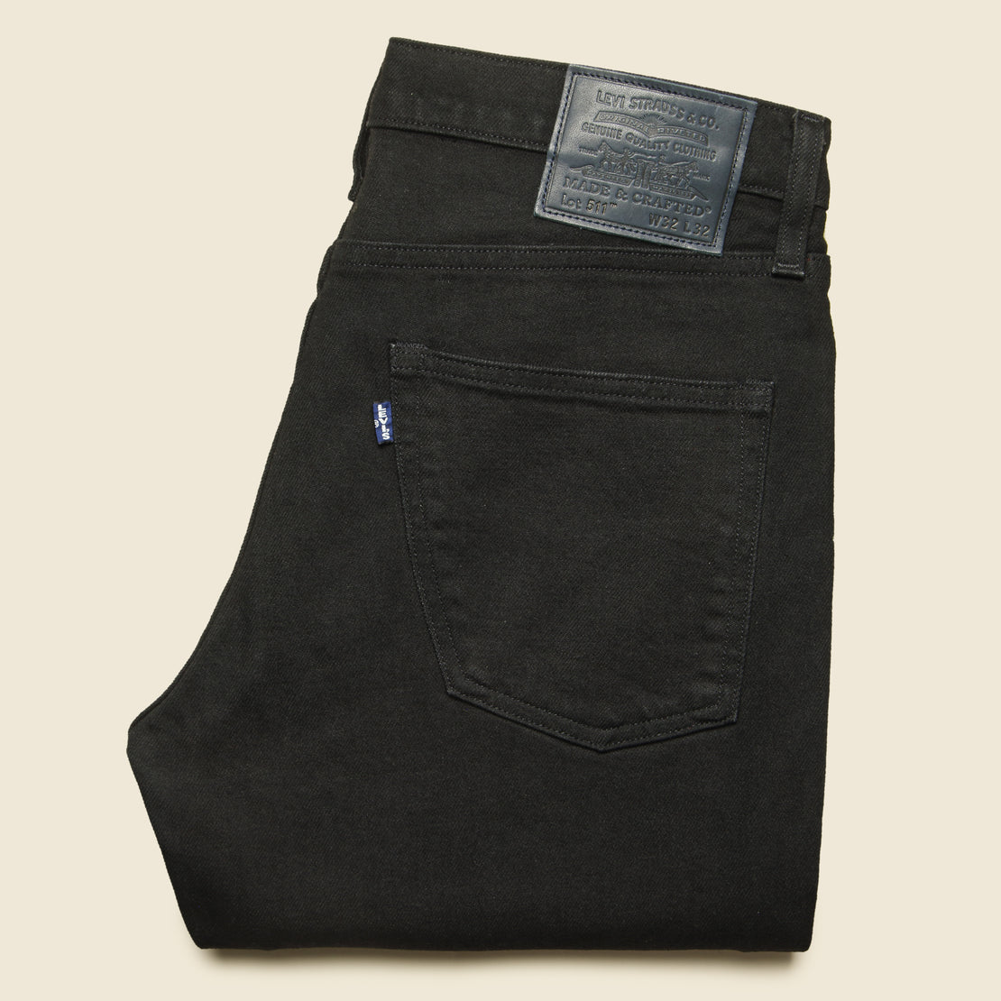 511 Slim Fit Jean - Black Rinse