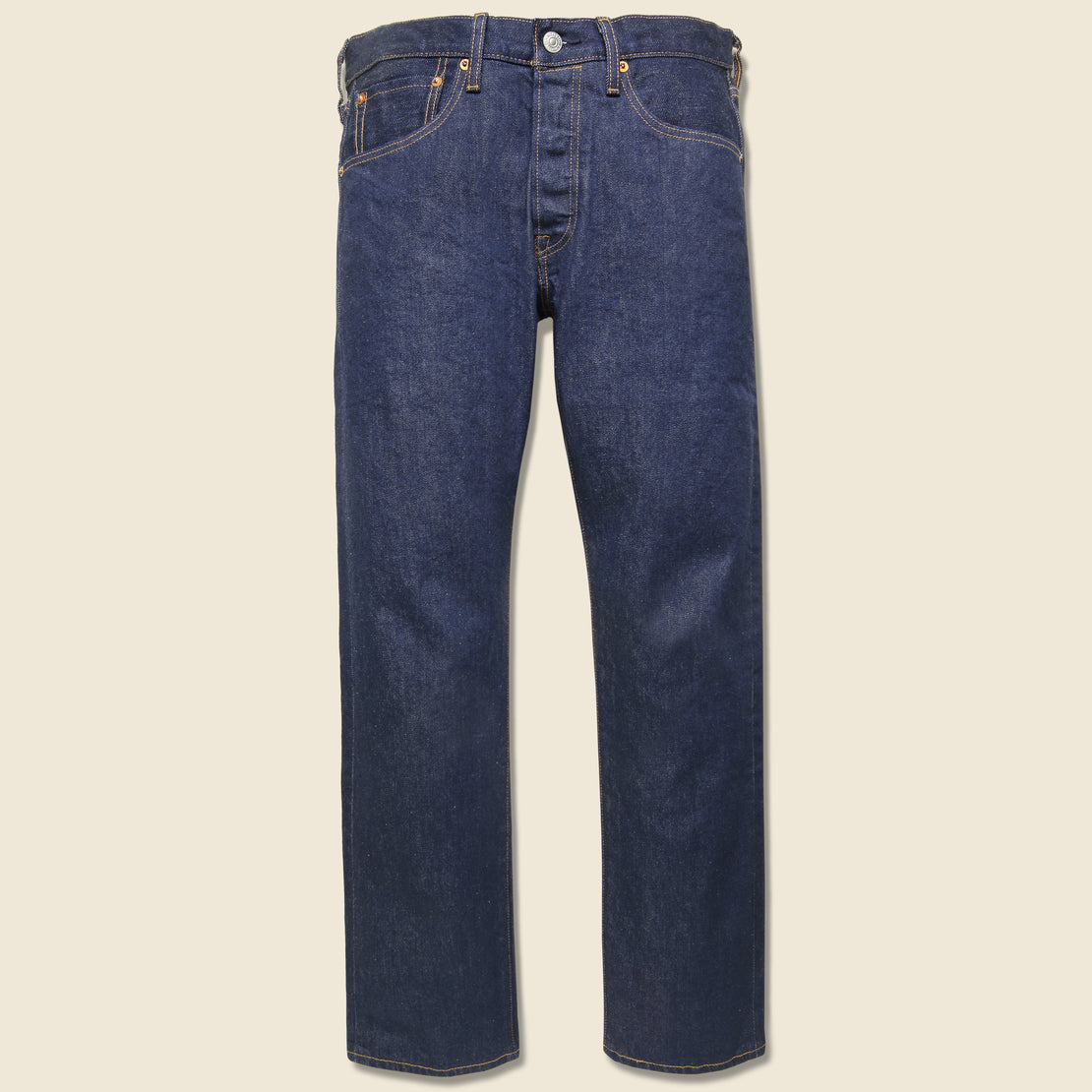 Levis Made & Crafted 501 Original Fit Jean - Rinse Stretch