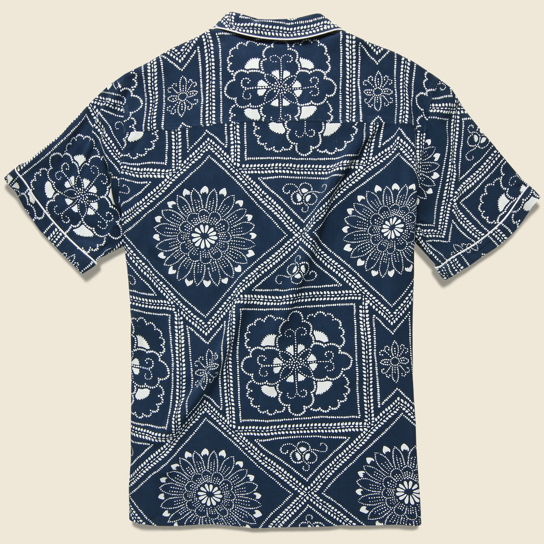 Pajama Shirt - Bandana Blues