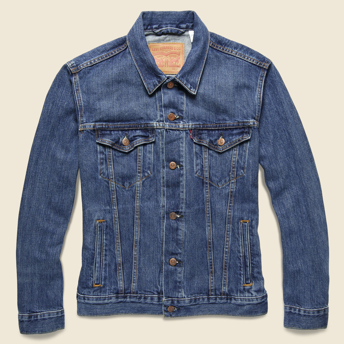 081754829 Trucker Jacket - The Shelf
