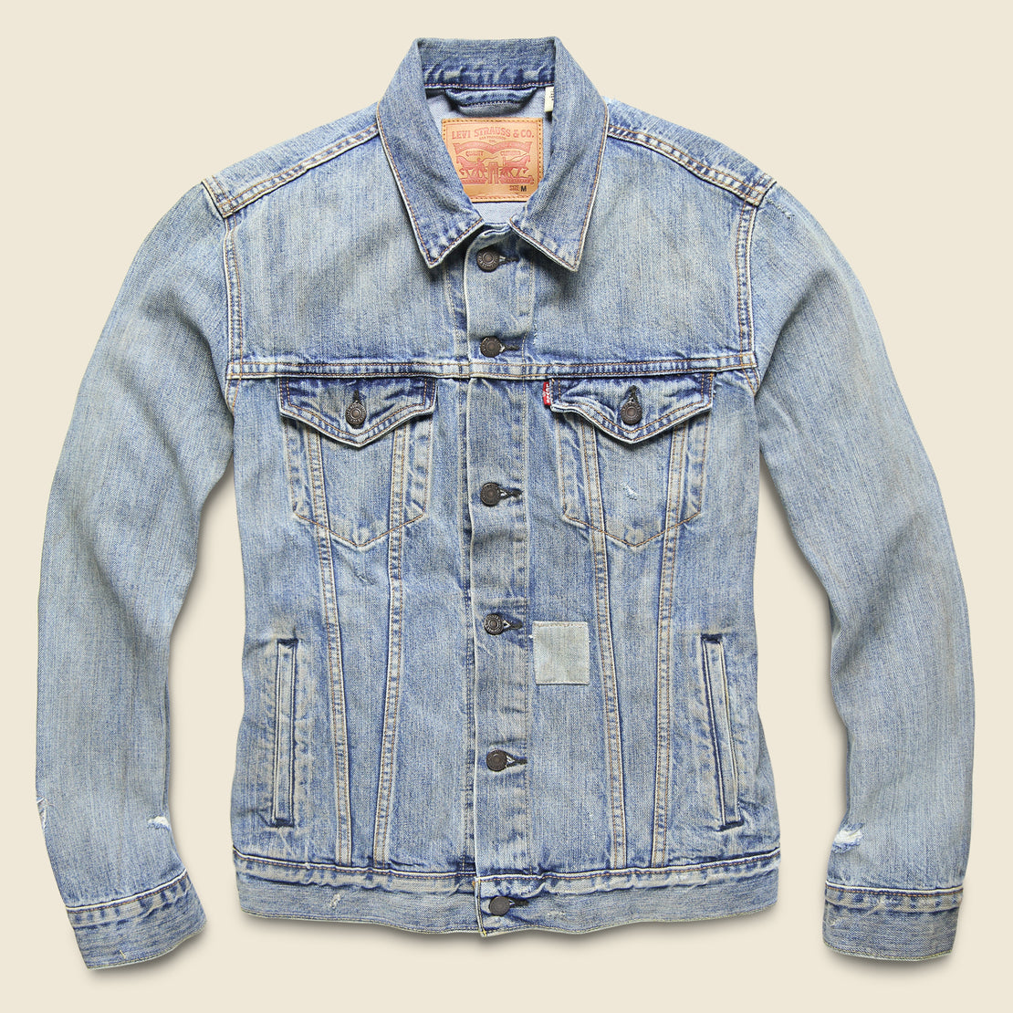 Levi's Red Tab Trucker Jacket - Shadow Puzzle