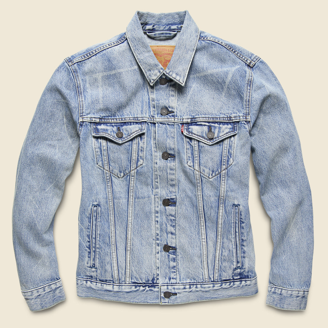 Levi's Red Tab Trucker Jacket - Rolled Up Dollar