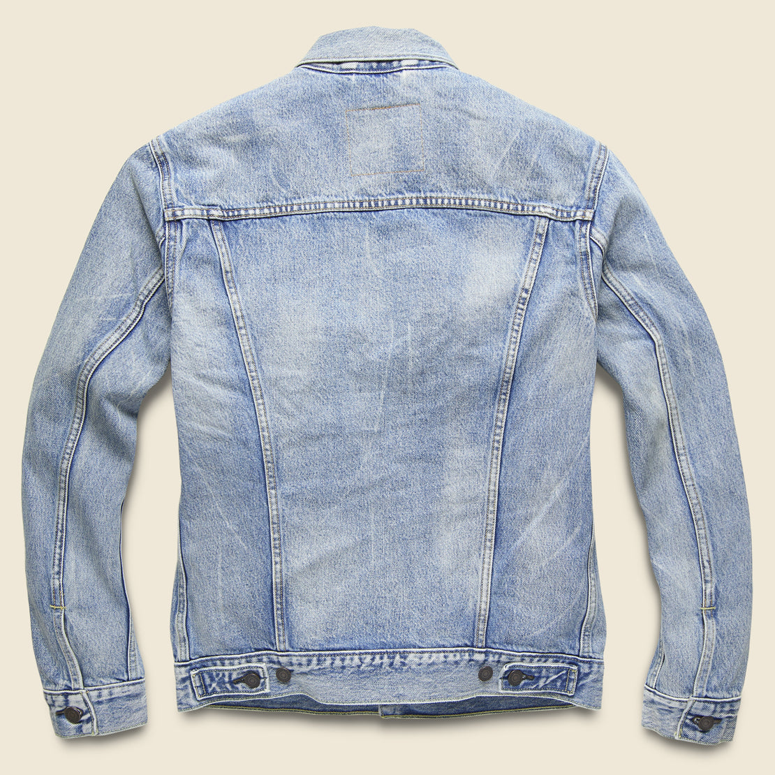 Trucker Jacket - Rolled Up Dollar