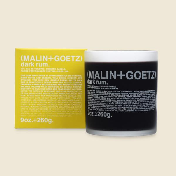 Malin + Goetz Candle - Dark Rum
