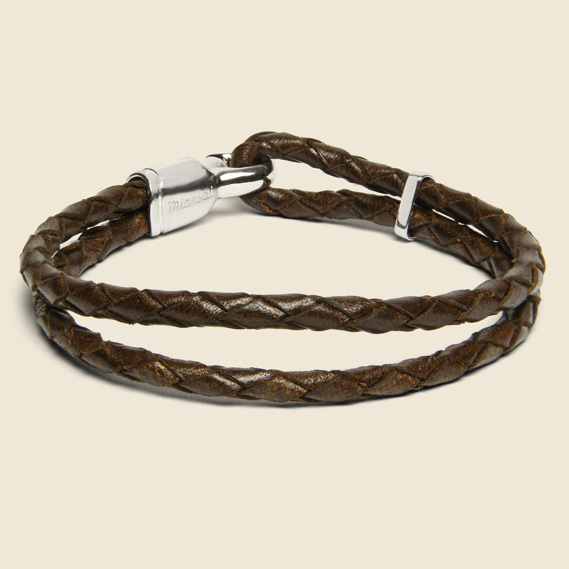 Single Trice Bracelet - Brown