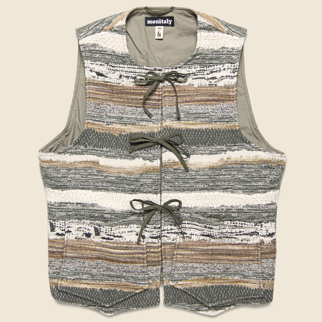 Monitaly Cincho Vest - Hand Crafter Cindy Soft Made