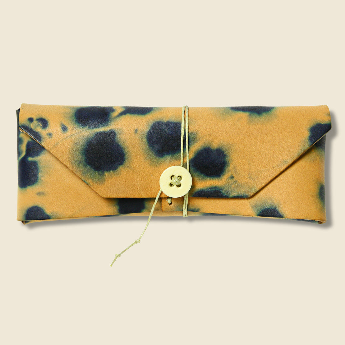 Made Solid Eyeglass Case - Indigo Tie Dye