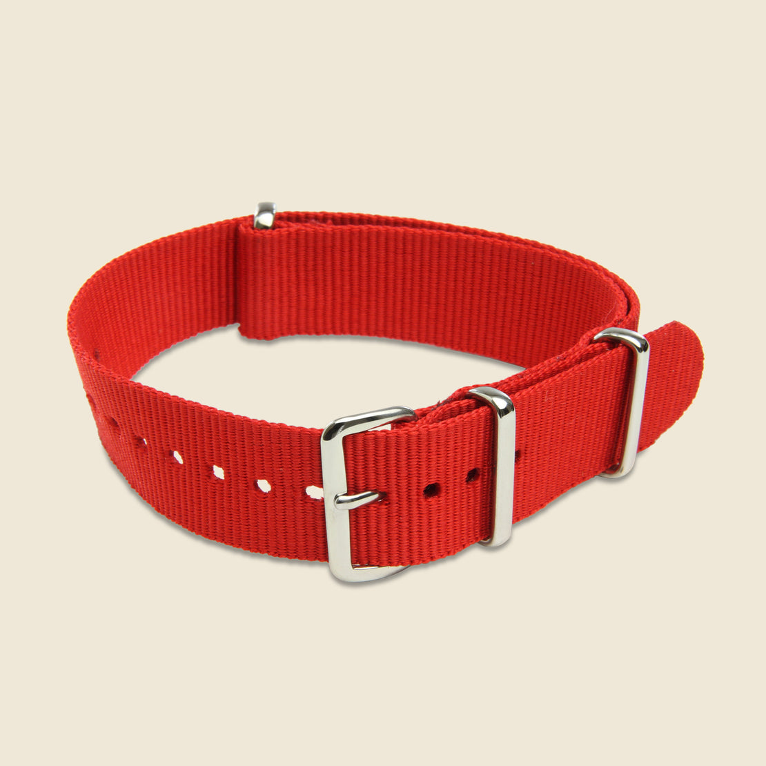 MWC 18mm Watch Band - Red