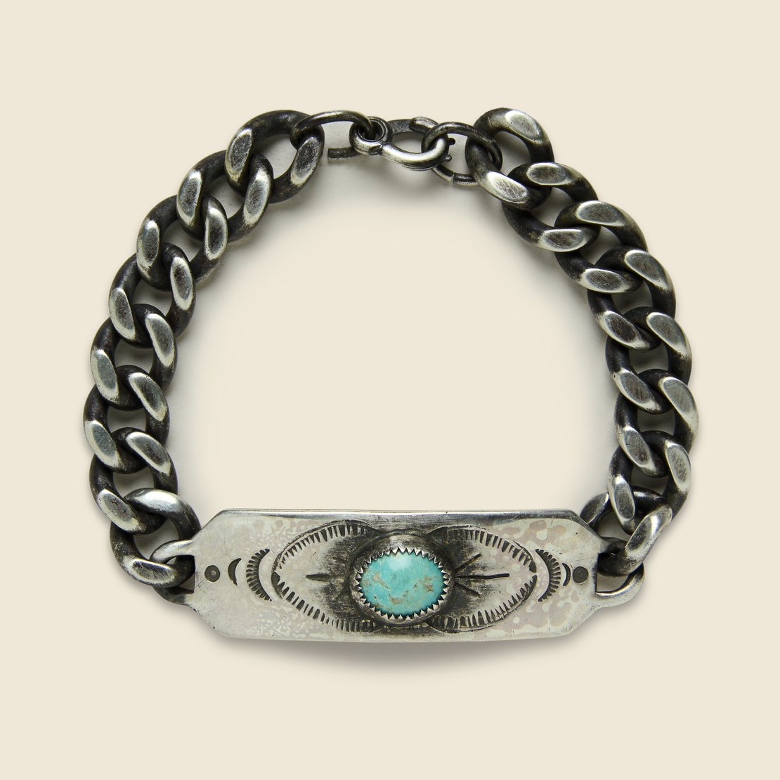 Signature Bracelet - Sterling Silver/Turquoise