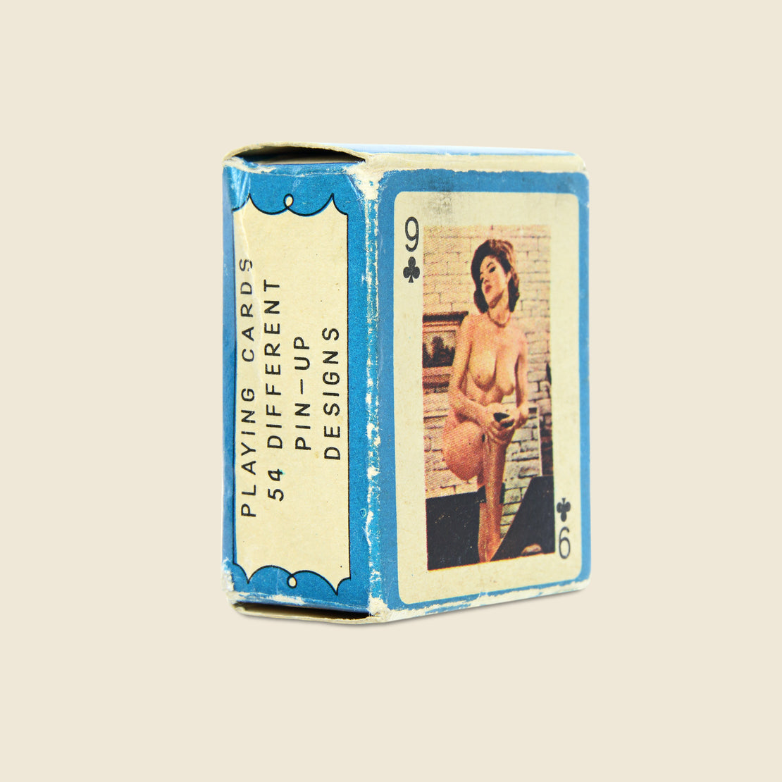 Vintage Pin-Up Mini Playing Cards