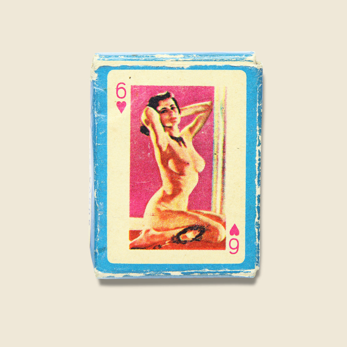 Pin-Up Mini Playing Cards - Vintage - STAG Provisions - Gift - Games