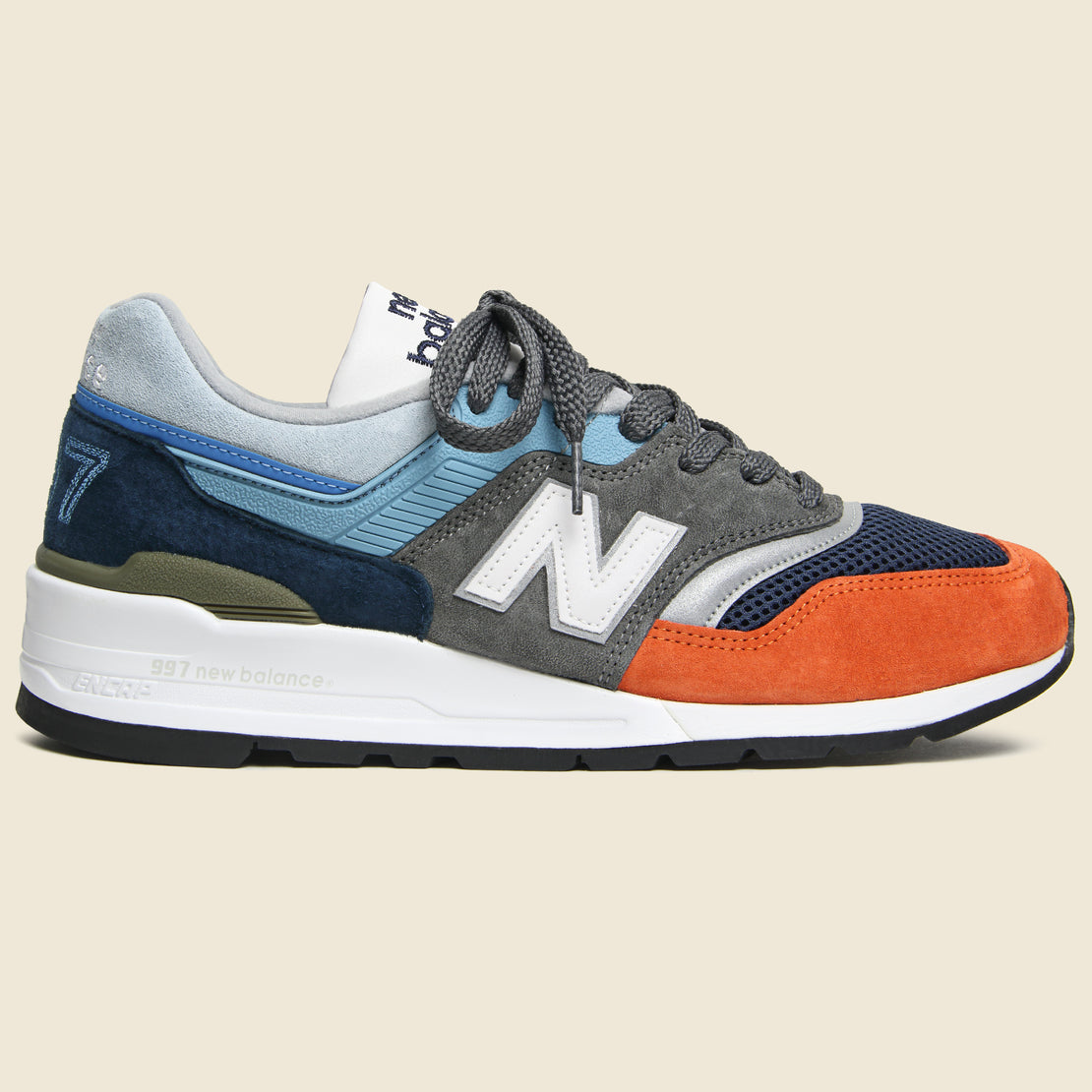 New Balance 997 Sneaker - Blue/Grey