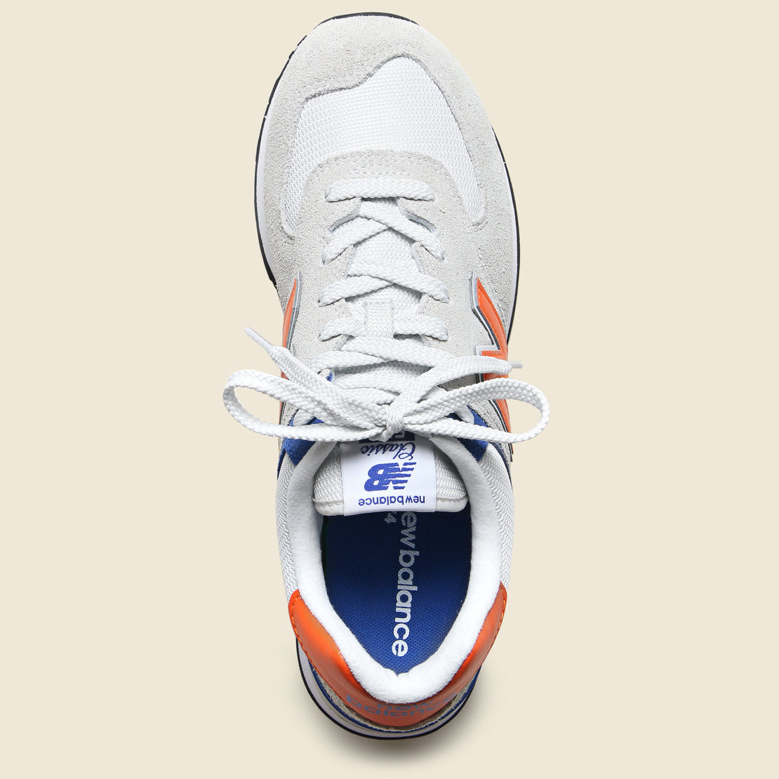 574 Sneaker - Blue/Orange