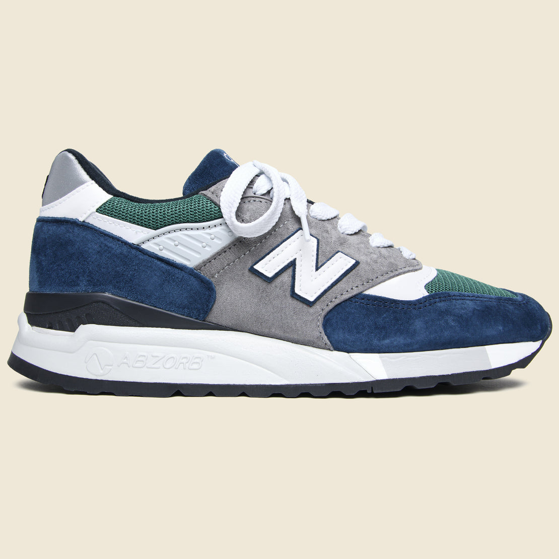 New Balance 998 Sneaker - Blue/Green