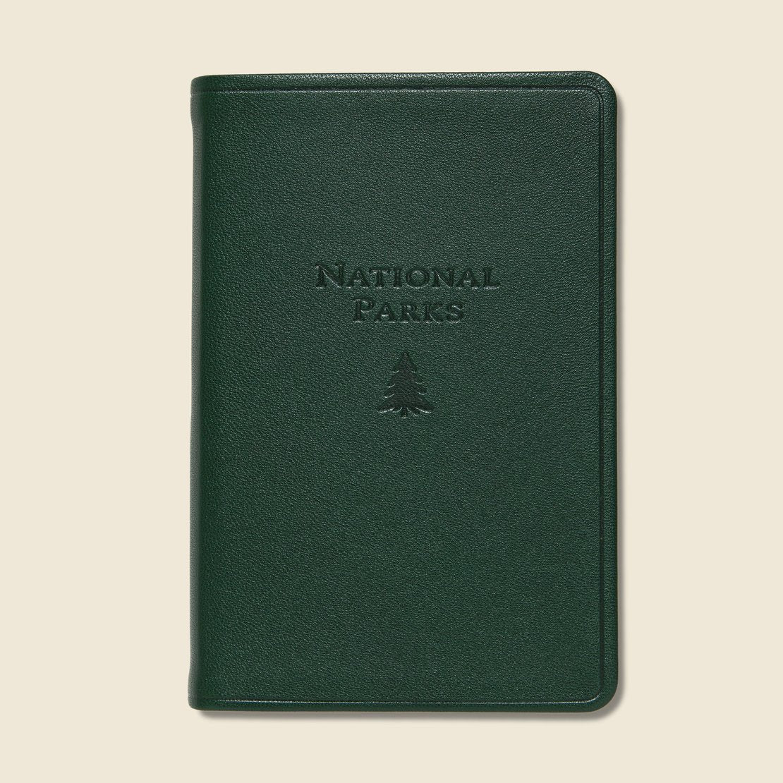 Paper Goods National Parks Atlas - Green Leather