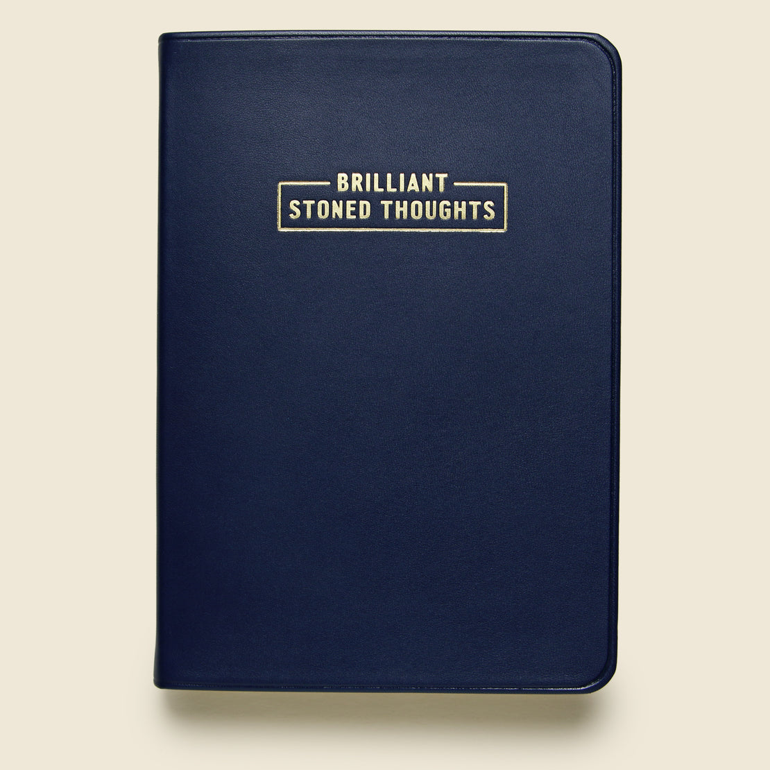 "Paper Goods Notebook - ""Brilliant Stoned Thoughts"""