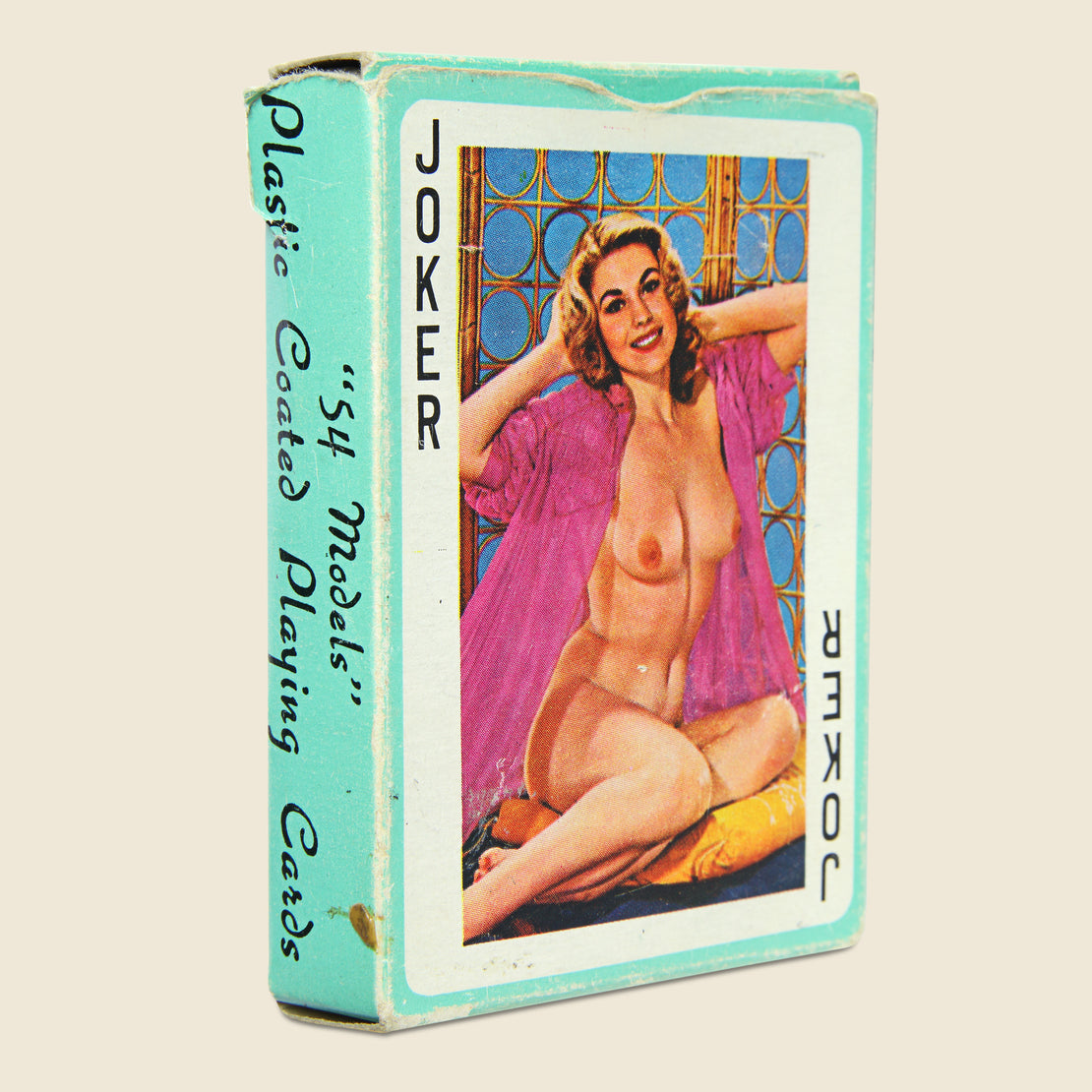 Vintage Deck of Honey Naughty Playing Cards Circa 1960s
