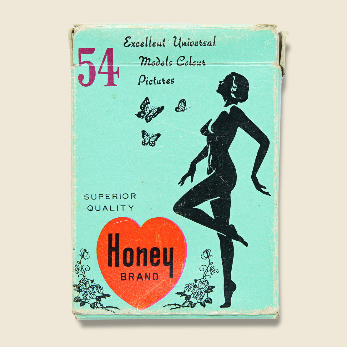 Deck of Honey Naughty Playing Cards Circa 1960s