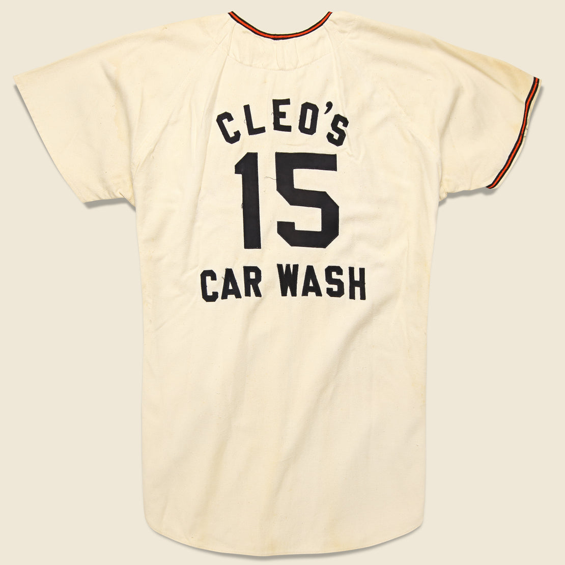 Cleo's Car Wash Zip Up Jersey - Cream