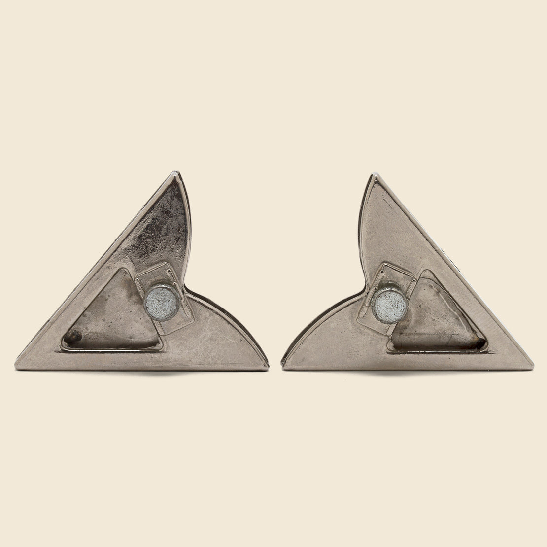 Horseshoe Collar Tips - Sterling Silver