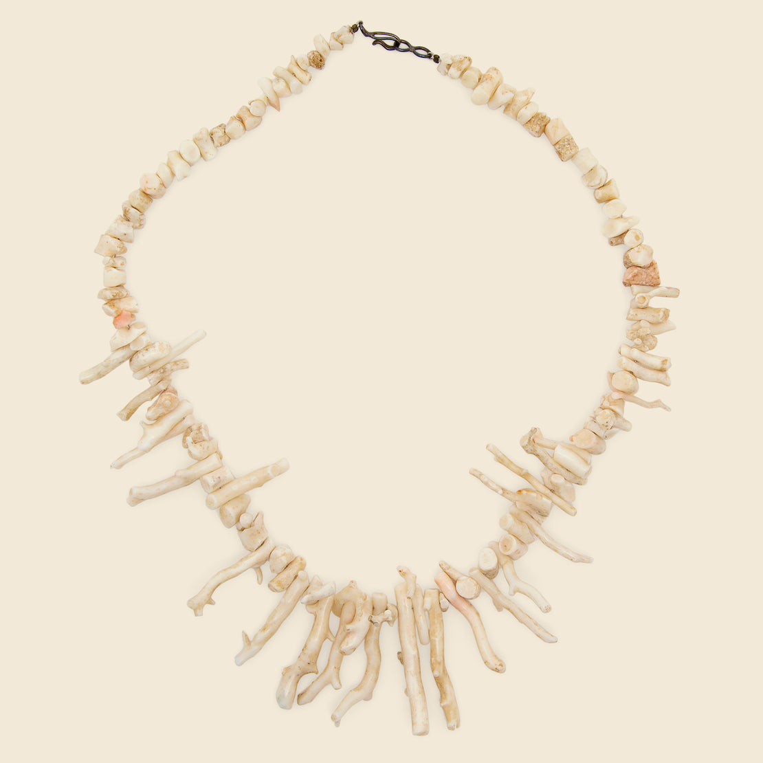 Vintage White Coral Necklace