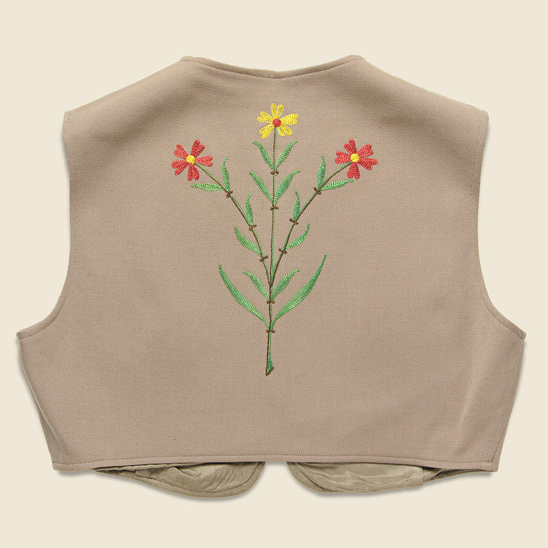 H & C Embroidered Vest