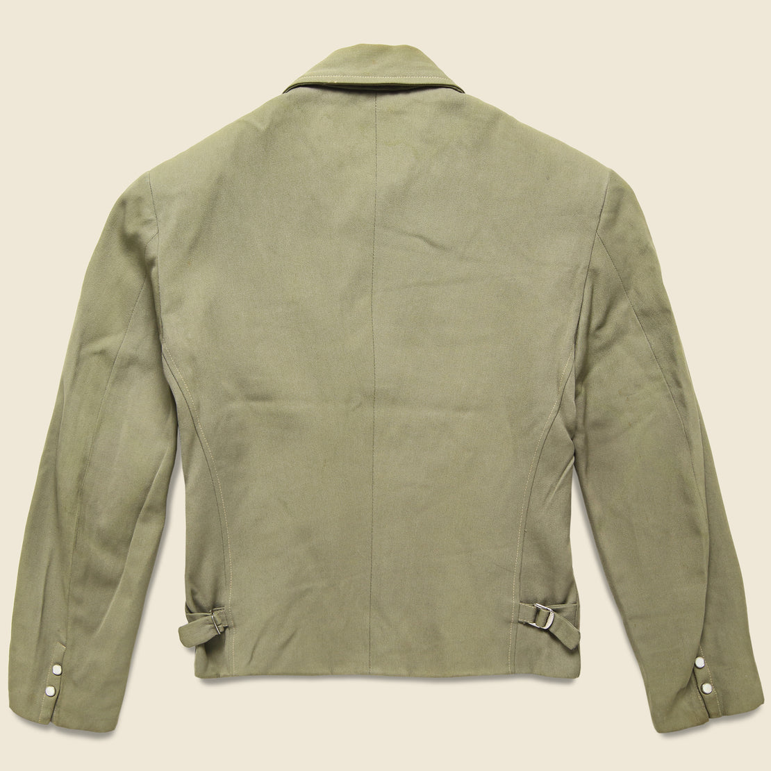 El Patio Western Jacket - Olive