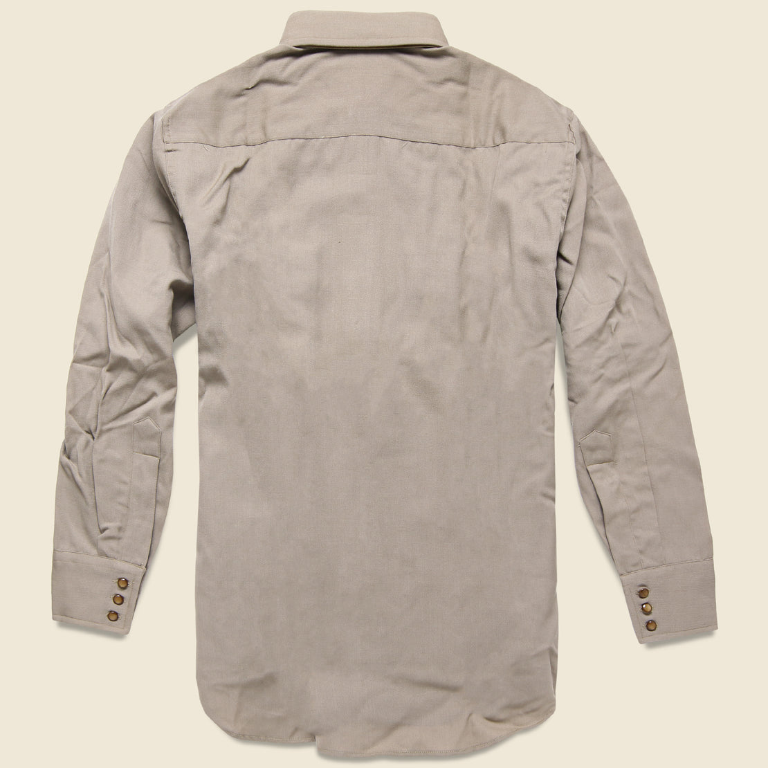 Deadstock Western Shirt - Grey