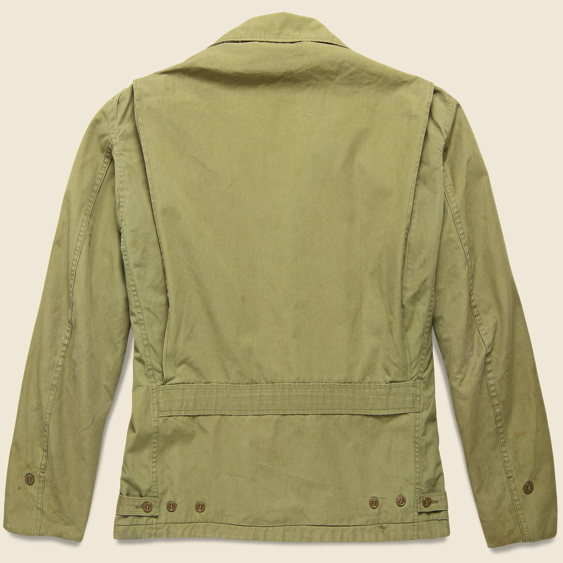 WWII Air Force Utility Jacket - Military Green