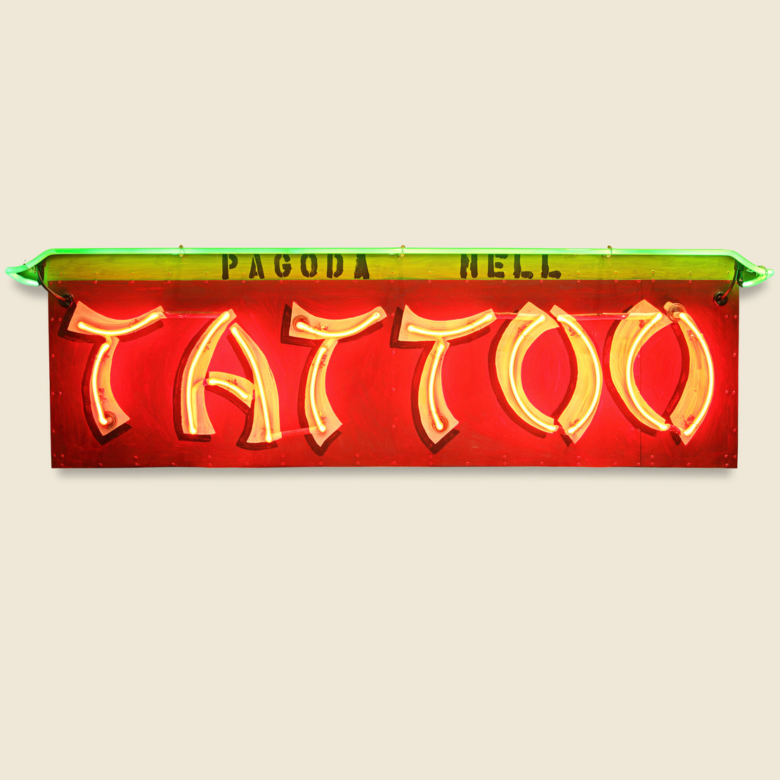 Vintage Neon Sign - Tattoo