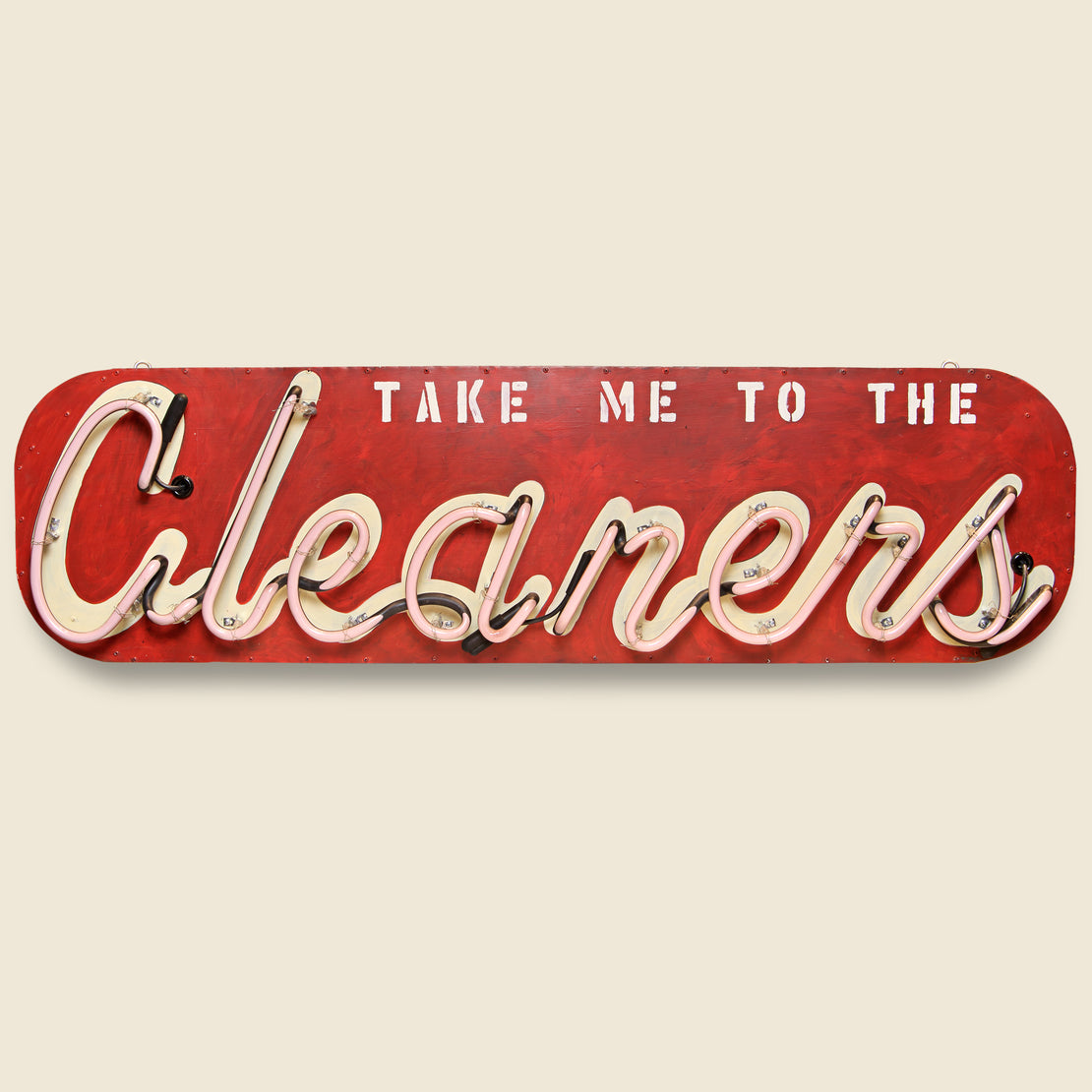 Neon Sign - Cleaners