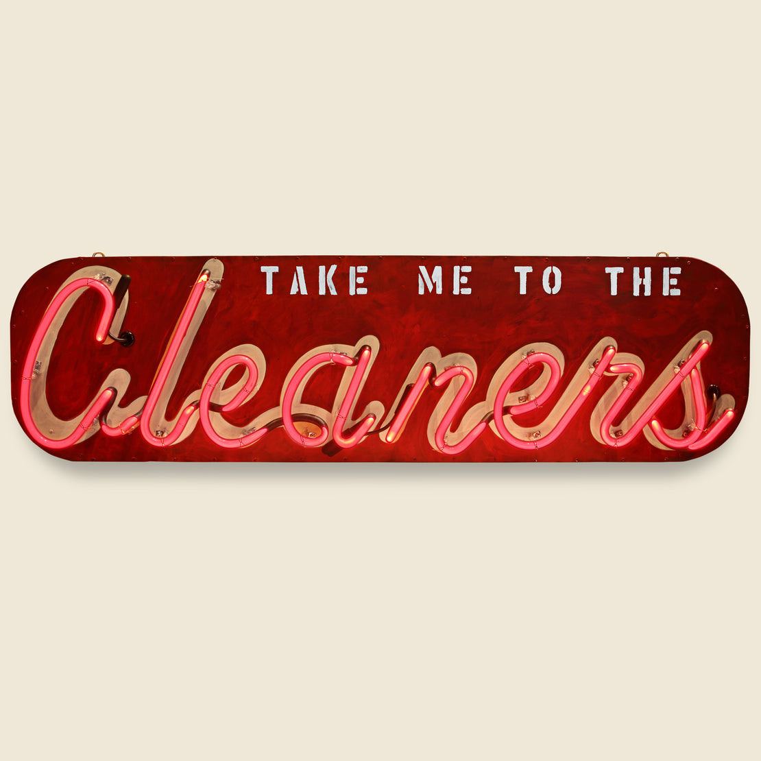 Vintage Neon Sign - Cleaners