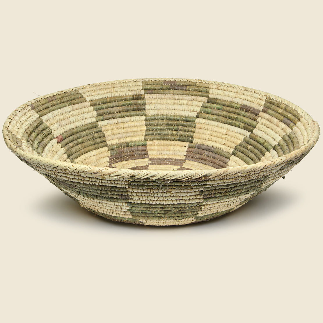 Vintage Large Handwoven Basket