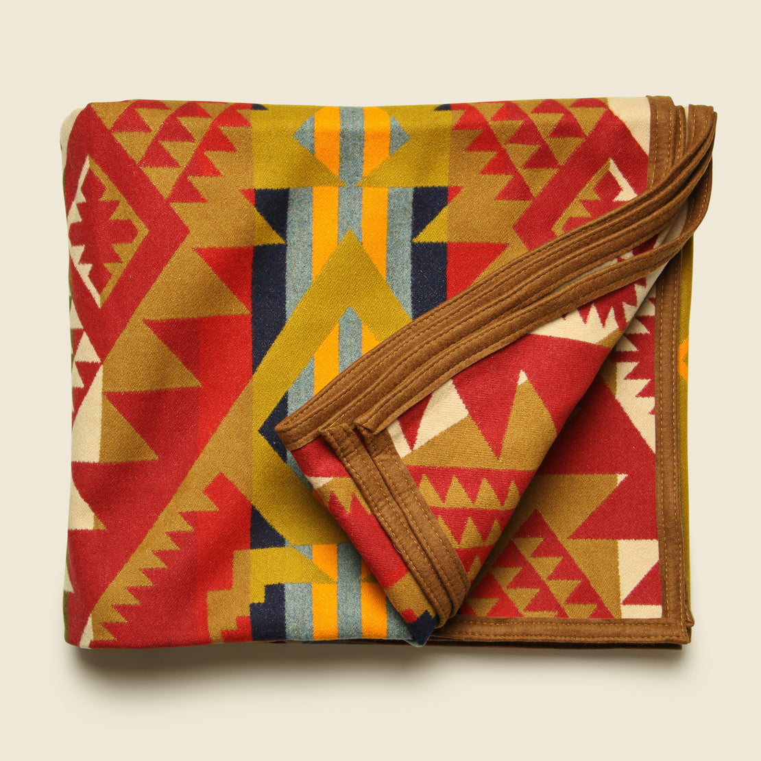 Journey West Blanket - Gold