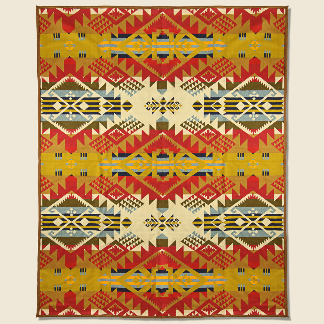 Pendleton Journey West Blanket - Gold