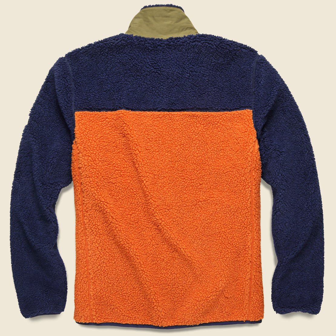Mattawa Colorblock Fleece Jacket - Outdoor Orange