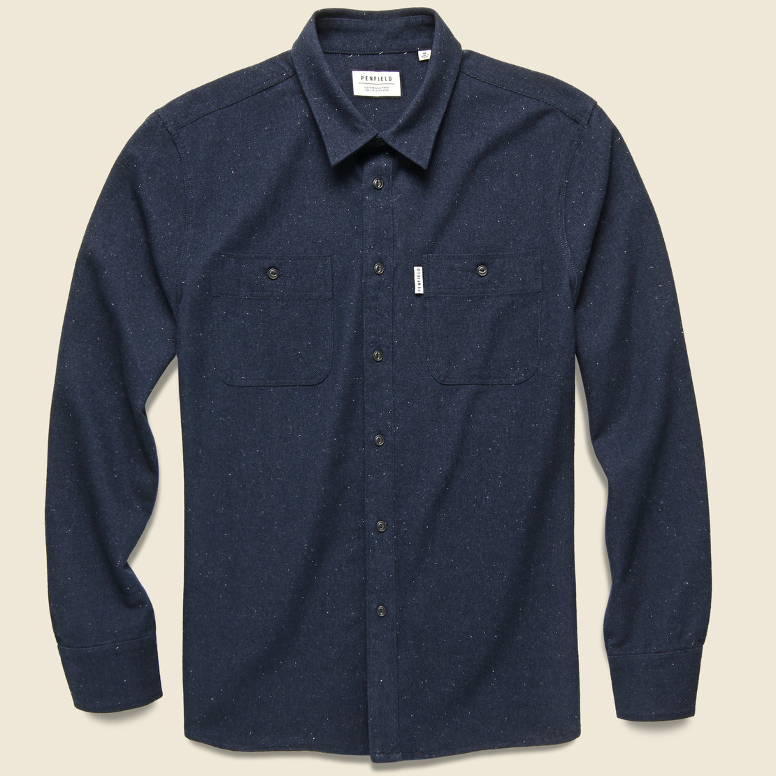 Penfield Blackmer Neps Shirt - Navy