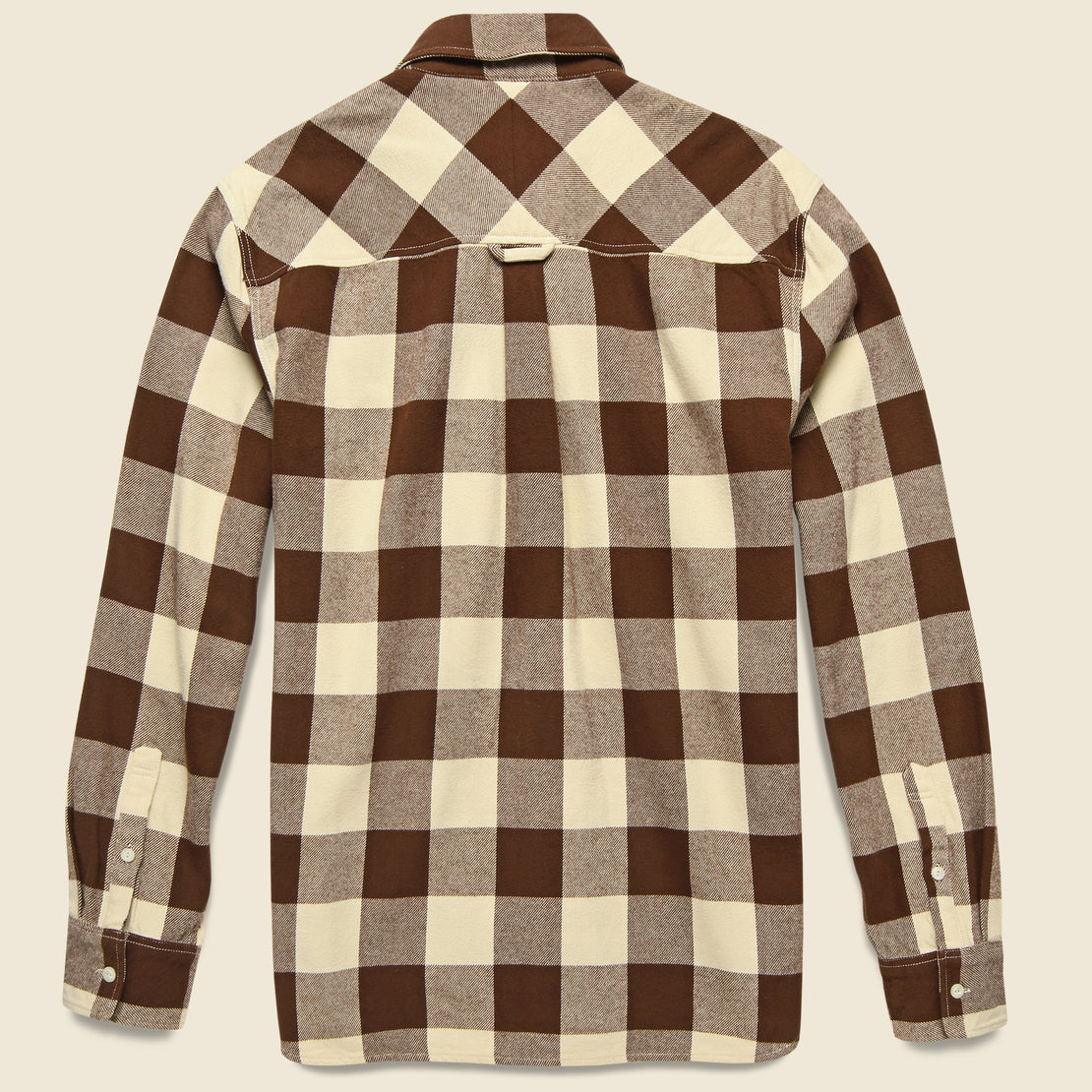 Blackmer Buffalo Shirt - Ecru