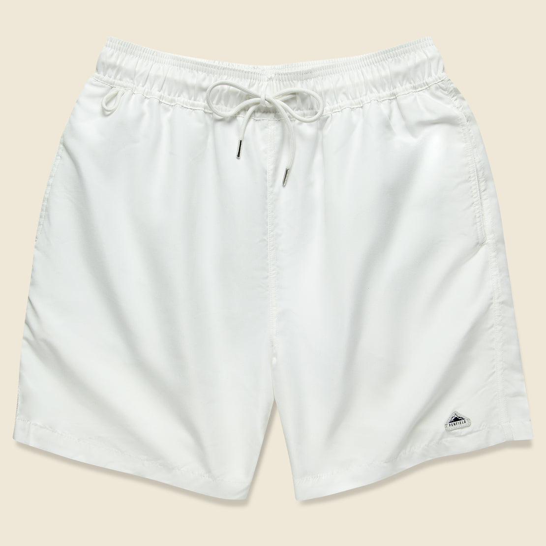 Penfield Seal Swim Trunk - White