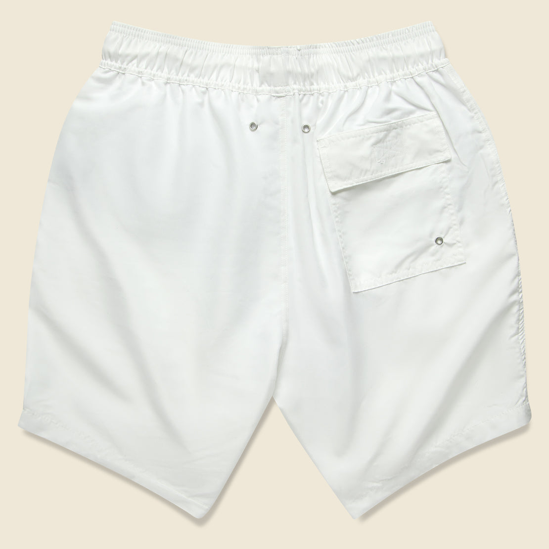 Seal Swim Trunk - White