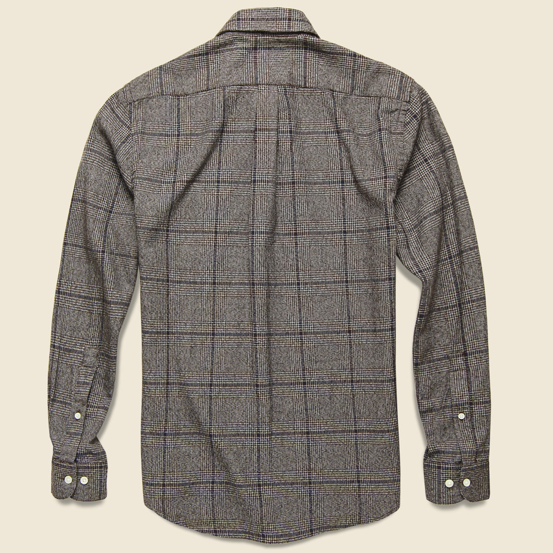 Prince of Wales Flannel - Bordeaux