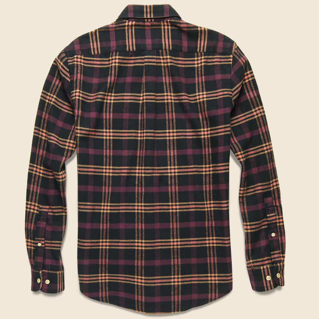 Compact Plaid Flannel - Black/Pink