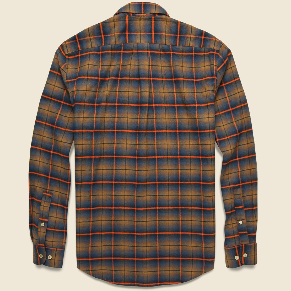 Check Flannel - Orange