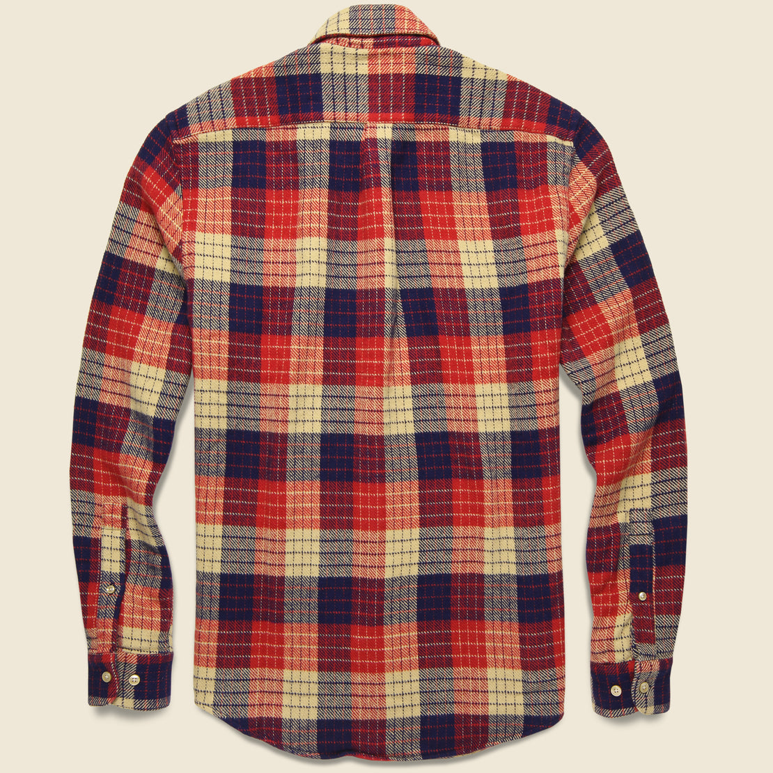 Village Plaid Flannel - Red/White