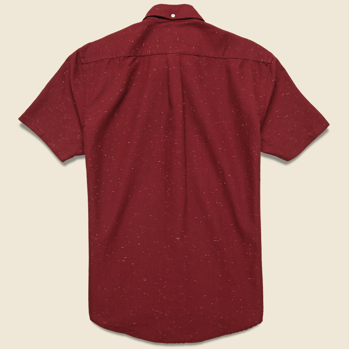 Blur Fleck Shirt - Bordeaux