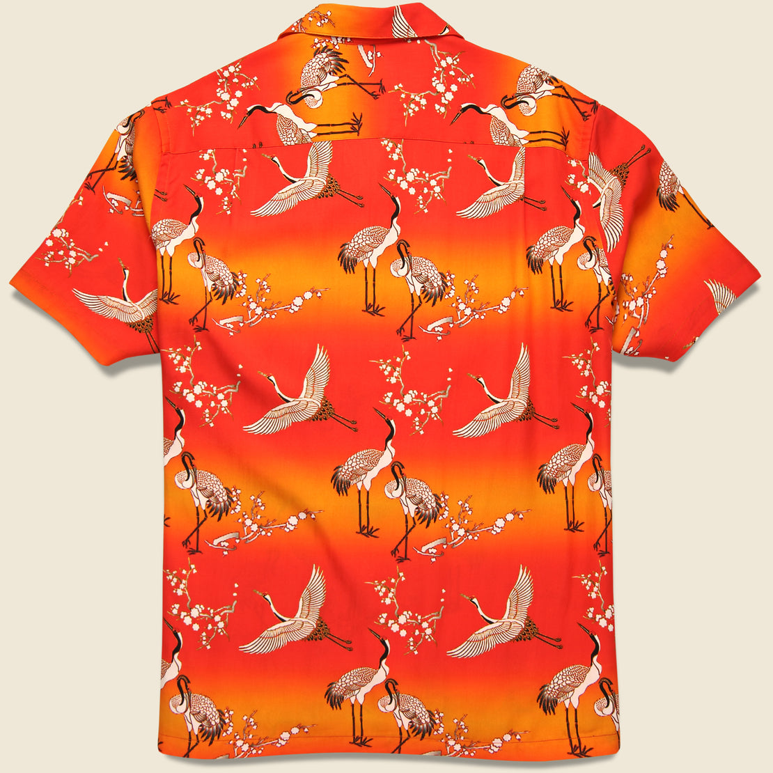 Tazu Camp Shirt - Pink/Orange