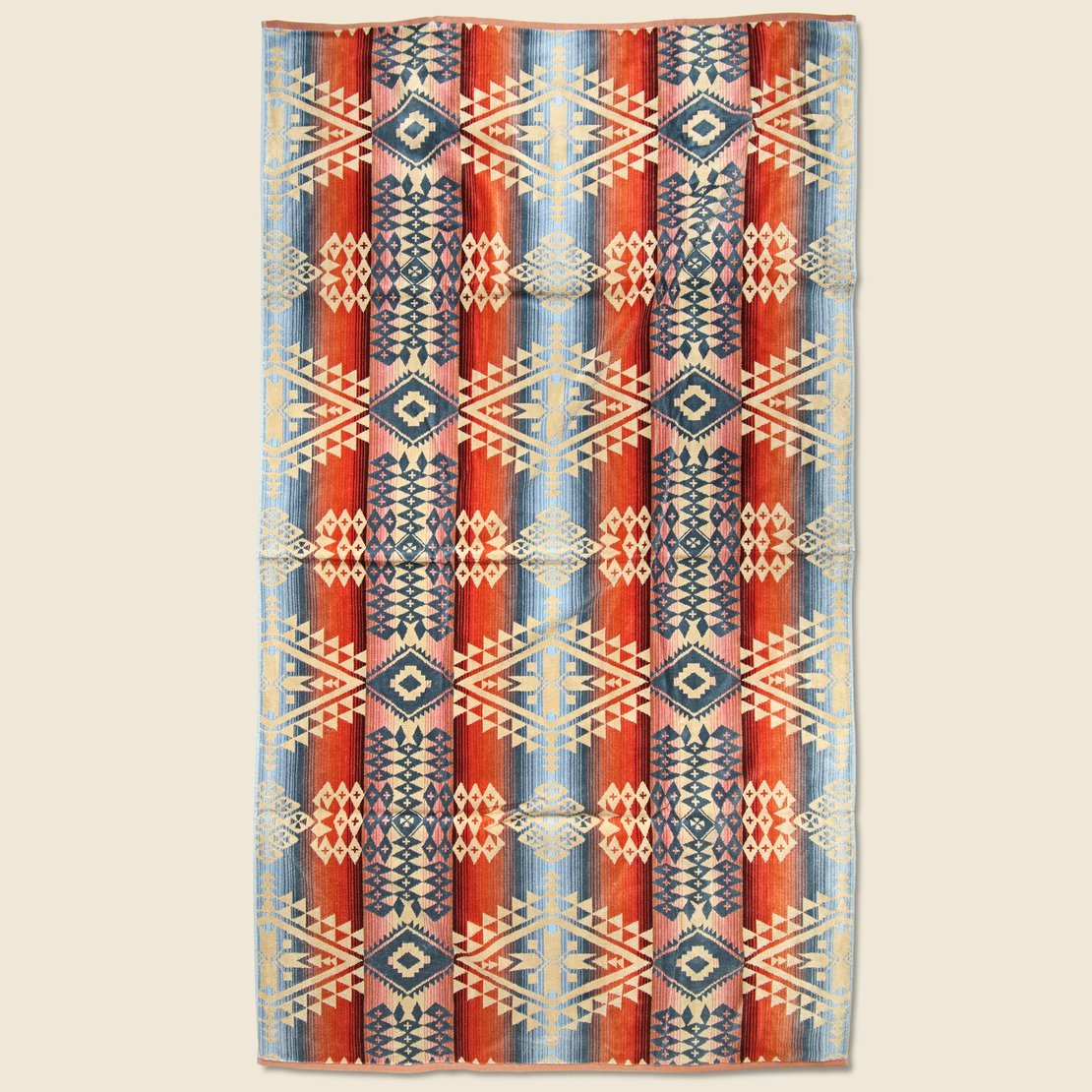 Canyonlands Towel - Red/Blue