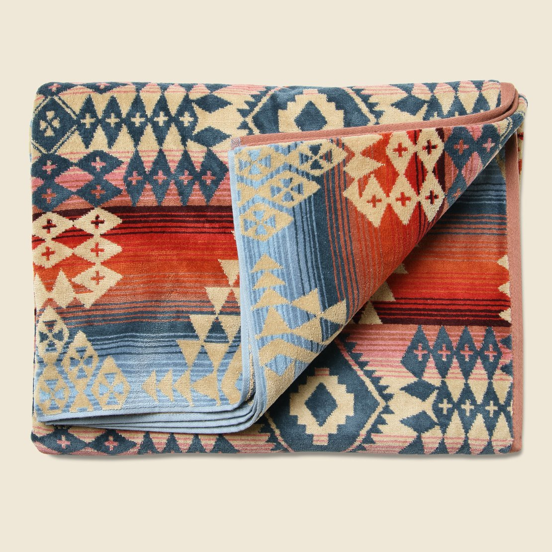 Pendleton Canyonlands Towel - Red/Blue